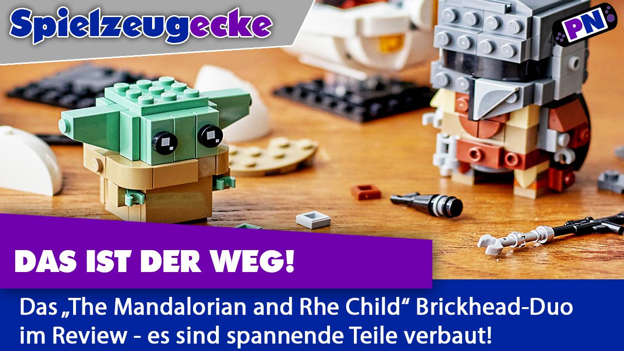 Das ist der Weg! Mandalorianer und das Kind als LEGO® Brickheadz (75317)