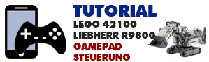 Gamepadsteuerung LEGO 42100 Liebherr R9800