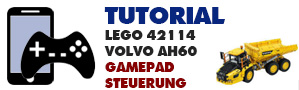 Gamepadsteuerung LEGO 42114 Volvo AH60