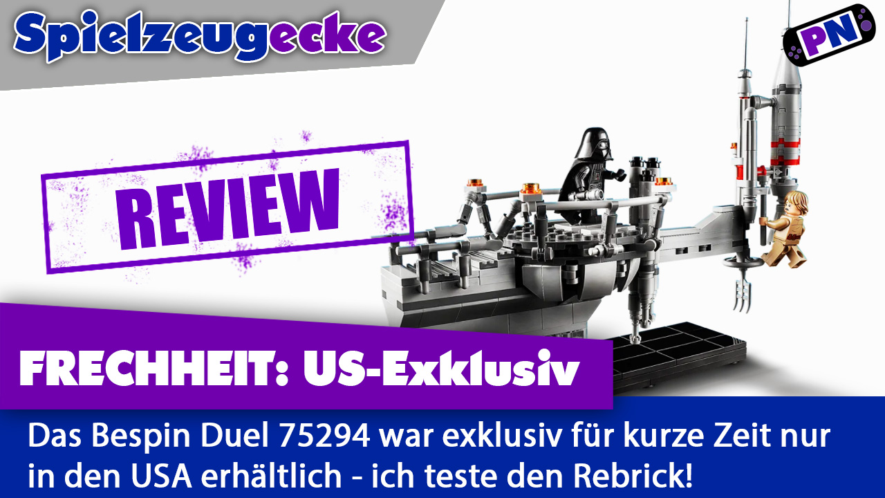 Review des US-Exklusiven Bespin Duel (Star Wars: Duell auf Bespin) / 75294 Rebrick