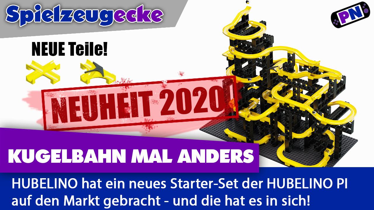 Neuheit 2020: Hubelino pi Starterset (Kugelbahn) mit neuen Teilen (440280) – LEGO kompatibel!