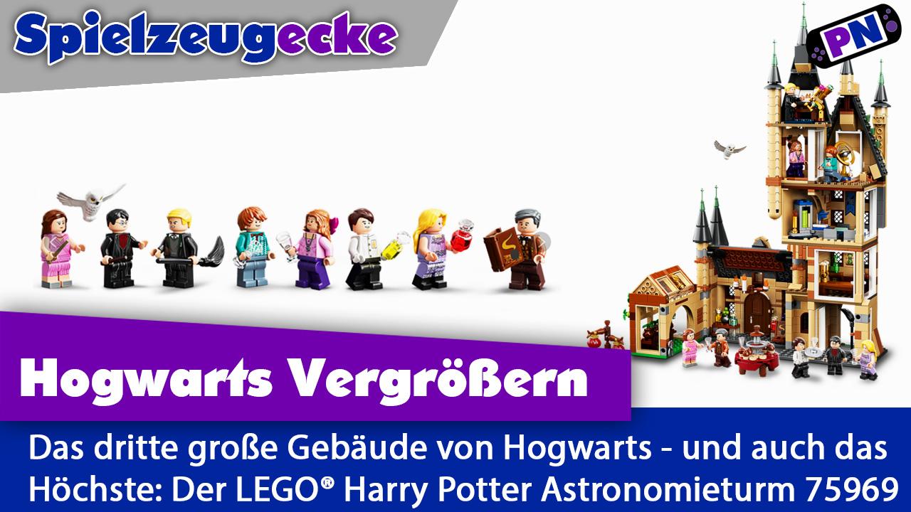 Hogwarts wächst: Mit dem höchsten LEGO Harry Potter Set – dem Astronomieturm (75969)