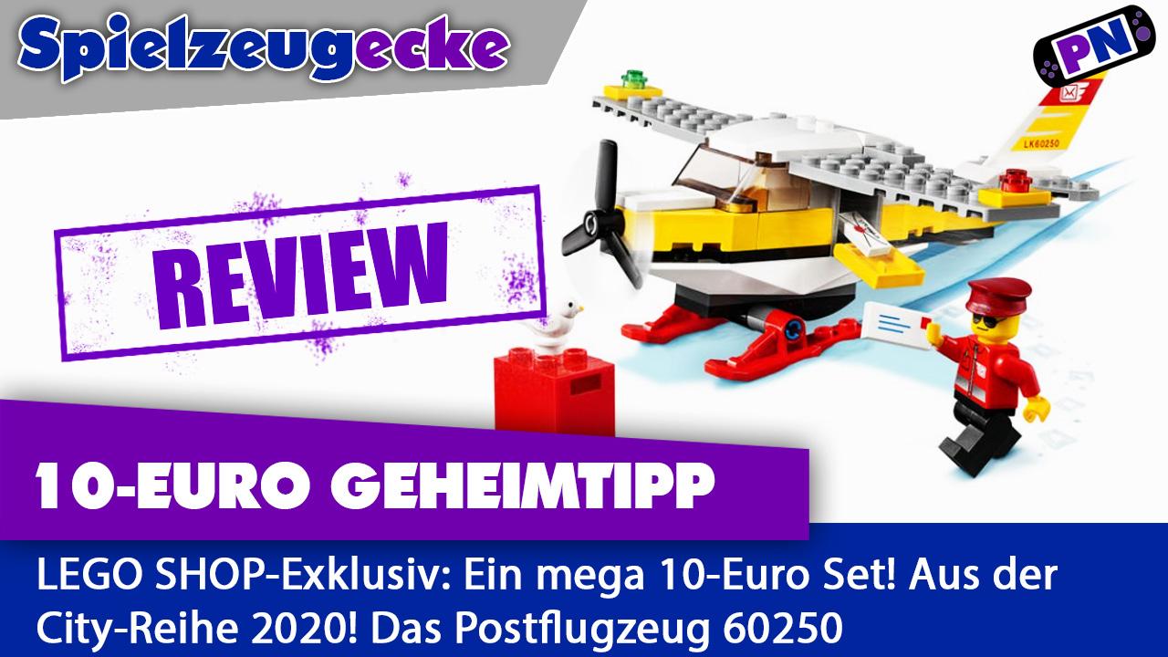 10 Euro GEHEIMTIPP! Das Postflugzeug (LEGO-Exklusiv) im Review (60250)