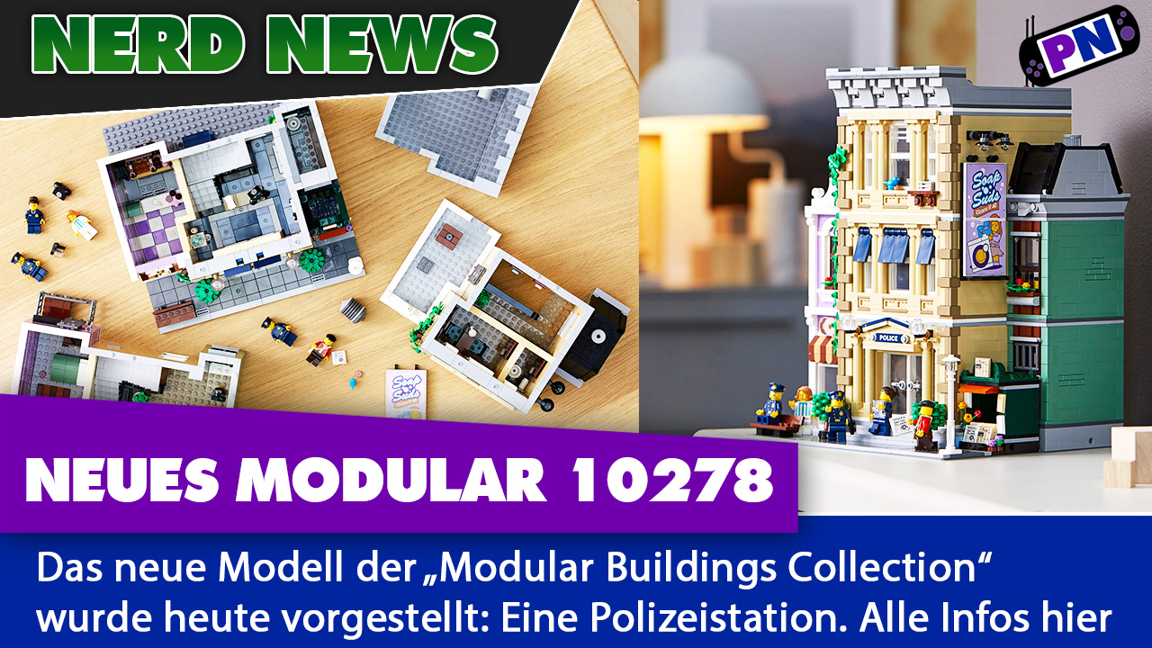 NEWS: LEGO 10278 Modular Building: Polizeistation enthüllt! Alle Details!