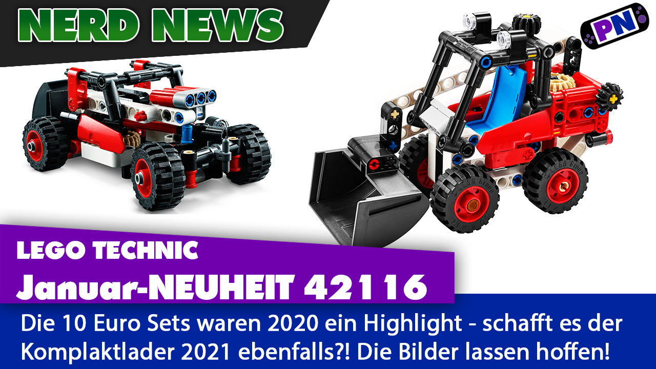 LEGO TECHNIC Neuheit 2021: Kompaktlader für 10 Euro! (42116)