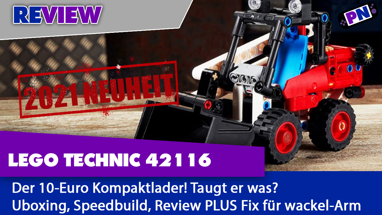 NEUHEIT 2021: LEGO TECHNIC 42116 – Kompaktlader: ein 10-Euro Set – Genial oder Gruselig?