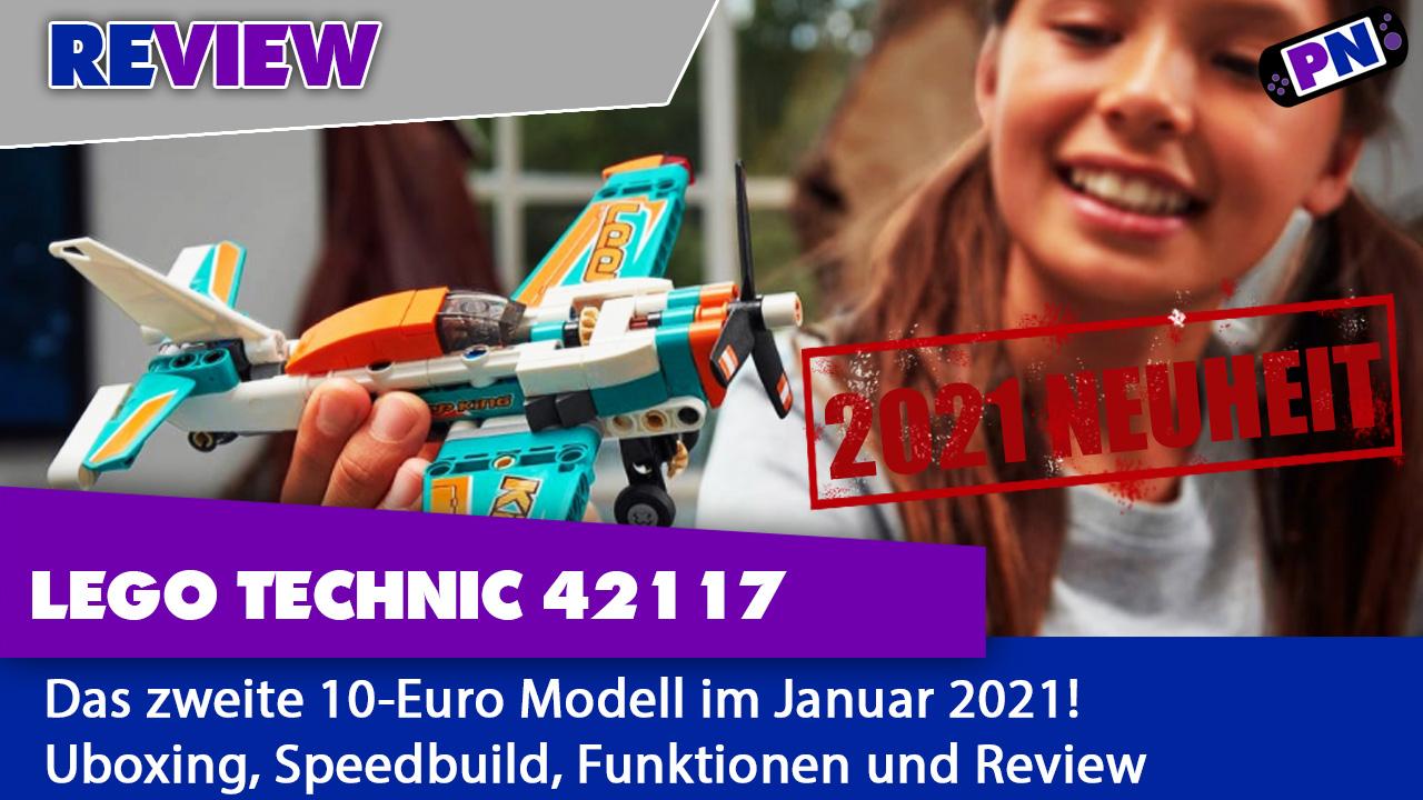 LEGO TECHNIC 42117 Rennflugzeug: Murks oder Mega? Januar Neuheit 2021