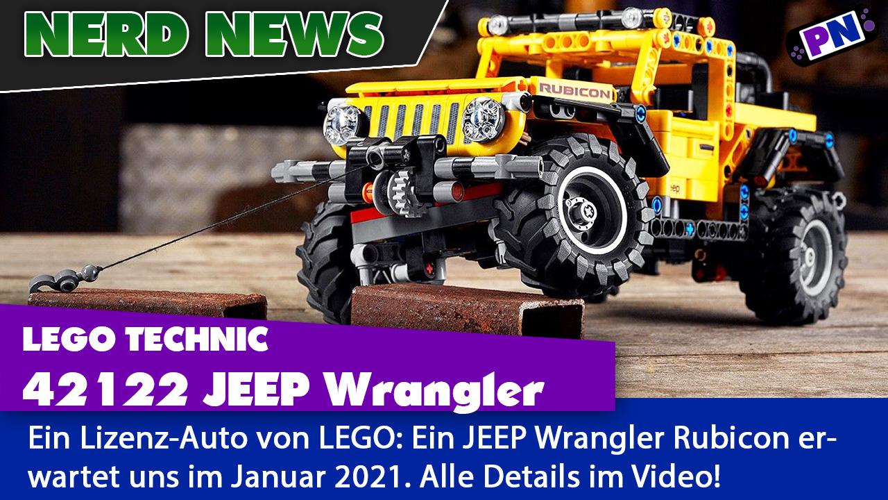 LEGO TECHNIC 42122 Jeep Wrangler Rubicon: OFFIZIELL Vorgestellt