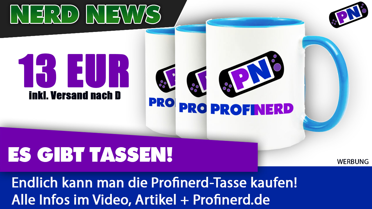Ab sofort bestellbar: Die Profinerd-Tasse!