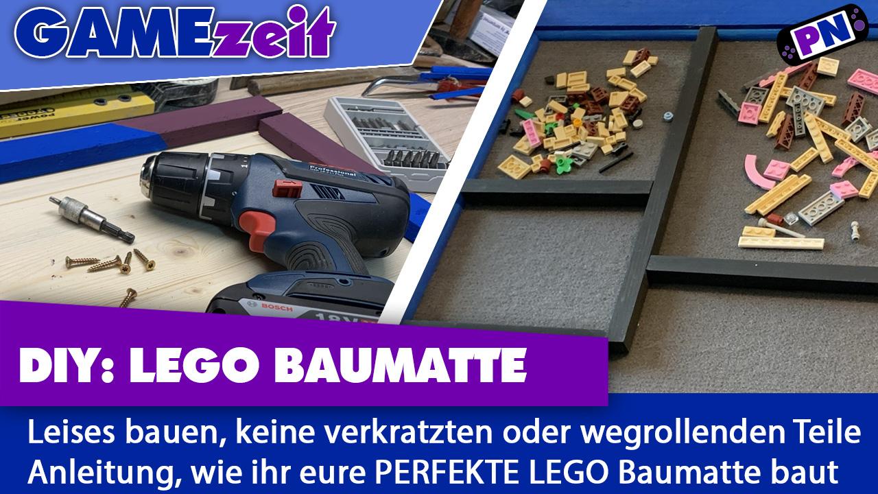 LEGO Baumatte Do It Yourself: Bauanleitung für BESSERES BAUEN!