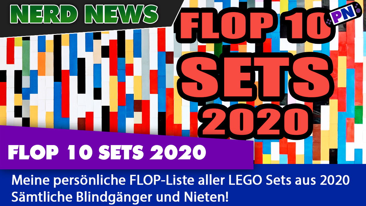 FAIL!!! LEGO FLOP 10: Die schlechtesten Sets aus 2020