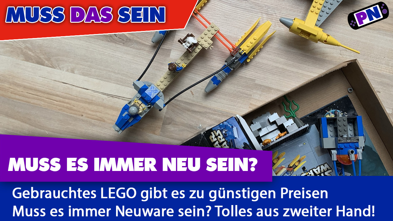 Muss das sein? Immer neues Lego? Gebrauchtes Lego ist auch toll!