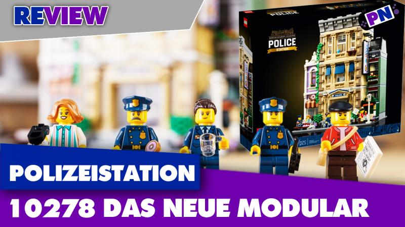 Neu, teuer und groß. Aber passt es in die Stadt?! Modular Building: LEGO® Polizeistation 10278 – Review