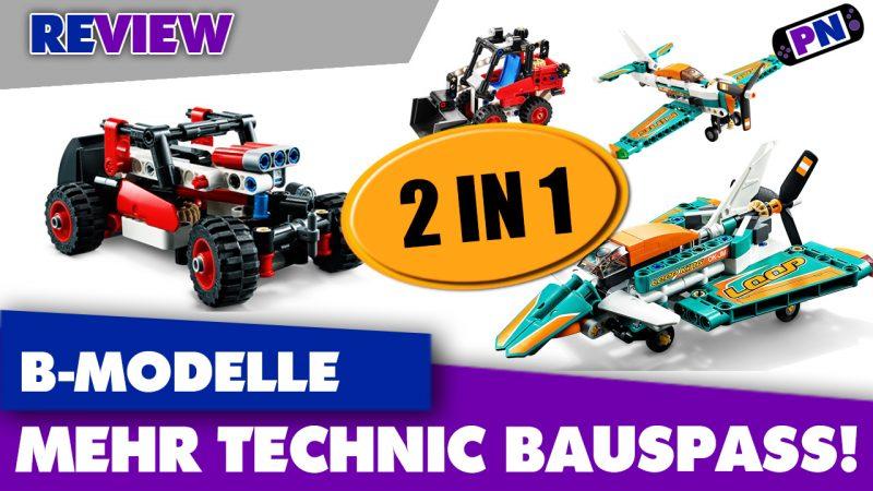 LEGO kann noch 2 in 1: Die B-Modelle der 10-Euro Sets aus 2020! Himmel und Hölle sag ich euch..