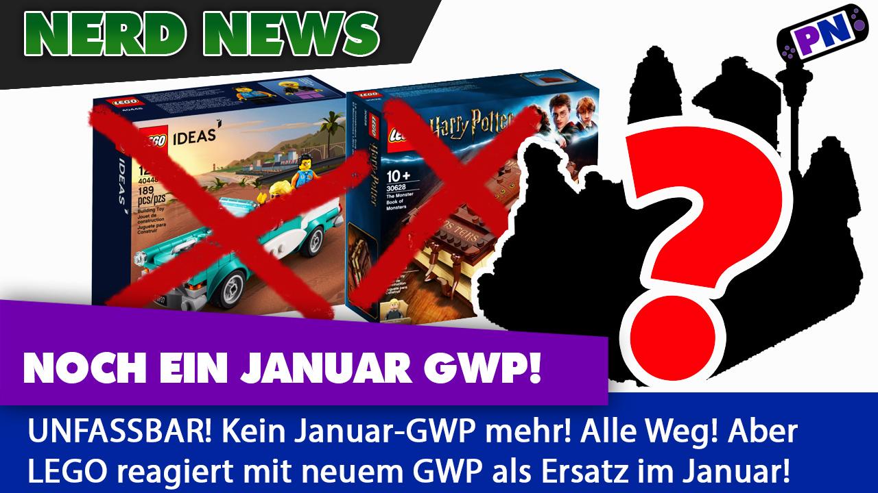 NEUES GWP als Ersatz für das Buch und Auto im Januar von LEGO®! Wenigsten etwas!