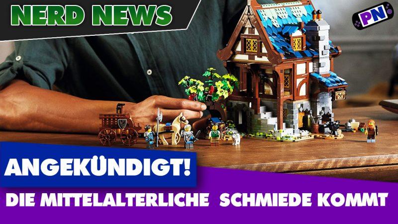 Die Falkenritter sind zurück! In der Mittelalterlichen Schmiede LEGO IDEAS 21325
