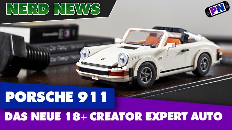 Brandheiß: Porsche 911 Targa / Turbo (10295) als Creator Expert bzw. 18+ Auto vorgestellt!
