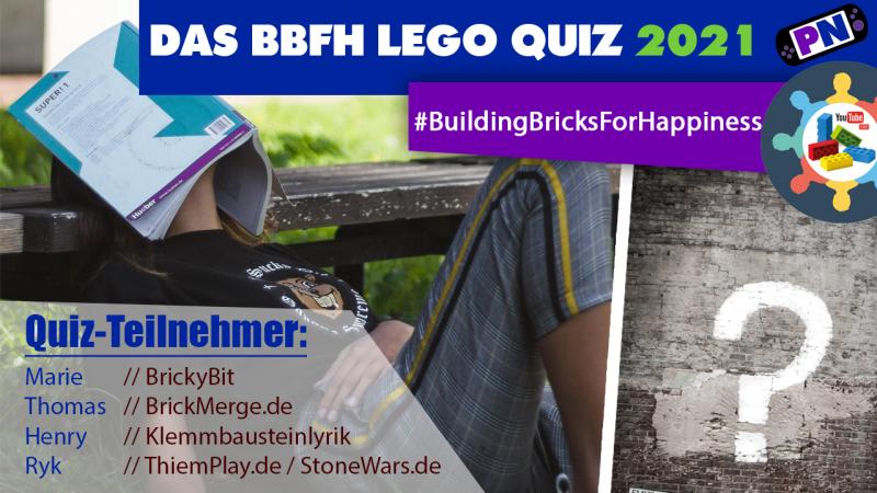 DAS GROSSE LEGO QUIZ mit Henry, Ryk, BrickyBit und Thomas #BuildingBricksForHappiness