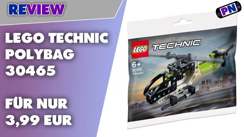 Ein LEGO® TECHNIC Polybag: Wo gibt's denn sowas?! Und der hat mehr Zahnräder als so manch anderes Set (30465)
