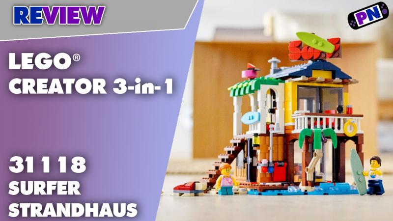 Aloha! Teilespender und tolle Idee! Das LEGO® Creator 3-in-1 Surfer-Strandhaus 31118 – Review