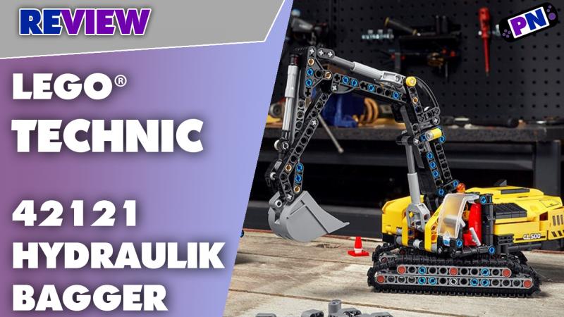 Klein aber Oho! Mit kleinen Schwächen: Der LEGO® TECHNIC Hydraulikbagger 42121