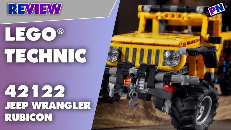 Keine Technik aber gute Gummis: LEGO® TECHNIC 42122 JEEP Wrangler Rubicon