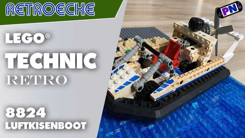 Fast 30 Jahre alt aber genial! Luftkissenboot von LEGO® TECHNIC 8824