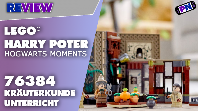 Geht im Bücherregal unter: LEGO® Hogwarts Moments: Kräuterkundeunterricht (76384)
