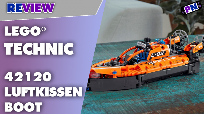 Von wegen nur heiße Luft! Das Ding kann was! LEGO® 42120 Rettungs-Luftkissenboot im Test!