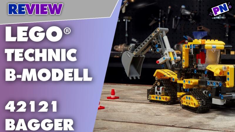 LEGO® TECHNIC B-Modell des Hydraulikbagger – Mist oder voller Überraschungen – Review! 42121