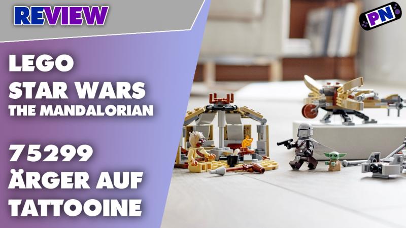 Top Mando, günstiger Grogu. Toller Teilesepender: LEGO® STAR WARS: Ärger auf Tattooine 75299