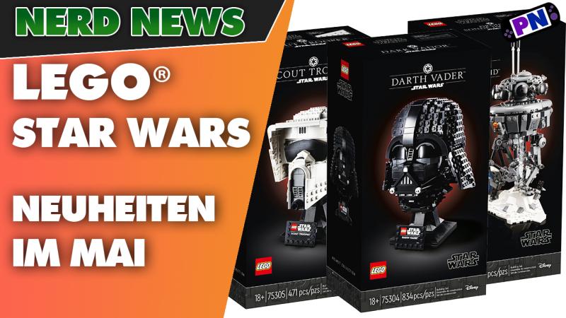 Neue LEGO® STAR WARS Sets im Mai! und Helme und Droide! DARTH VADER!!! 75306, 75305, 75304