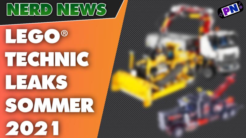 LEGO® LEAKS: TECHNIC SOMMER 2021 – Das erwartet uns: Abschlepper, Zetros und CAT Bulldozer! 42128 42129 42131