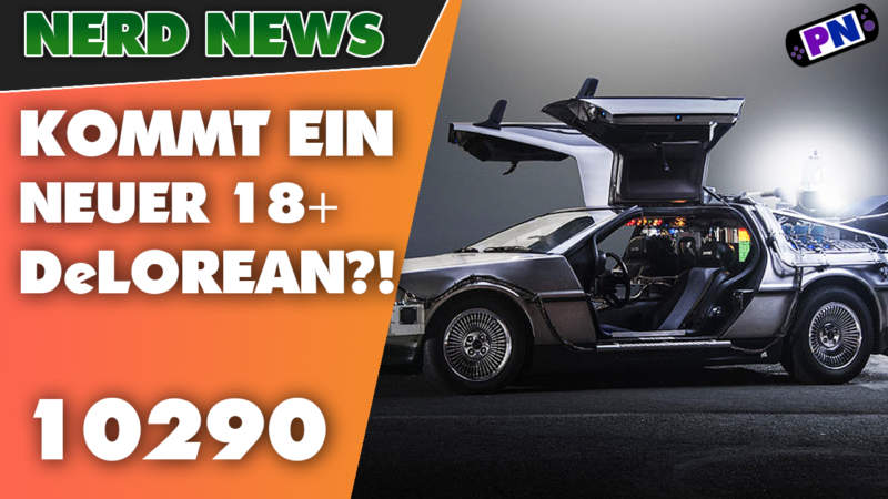 Great Scott! Brandheiß! Kommt ein LEGO® DeLorean in der 18+ Collection? (10290)