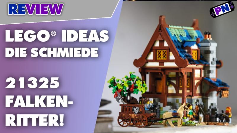 Falkenritter, Amboss und bunte Steine: Die LEGO® IDEAS Schmiede im Review 21325