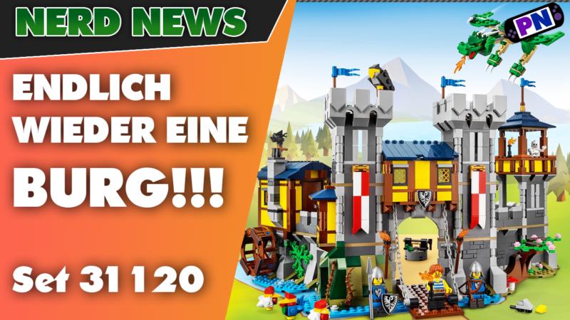 ENDLICH EINE BURG von LEGO®! Die Creator 3-in-1 Ritterburg kommt! (31120)