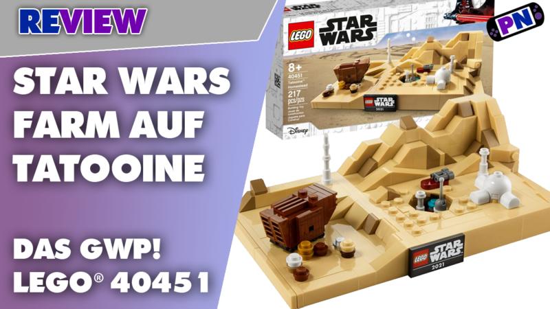 Was war echt schnell vergriffen: LEGO® 40451 Star Wars Farm auf Tatooine – das May 4th GWP im Review