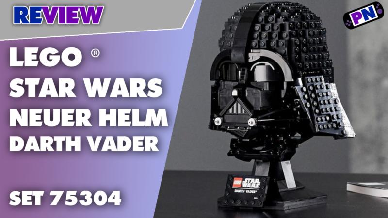 Komm auf die dunkle Seite! Der Darth Vader Helm aus der LEGO® Star Wars Helmet Collection im Review (75304)