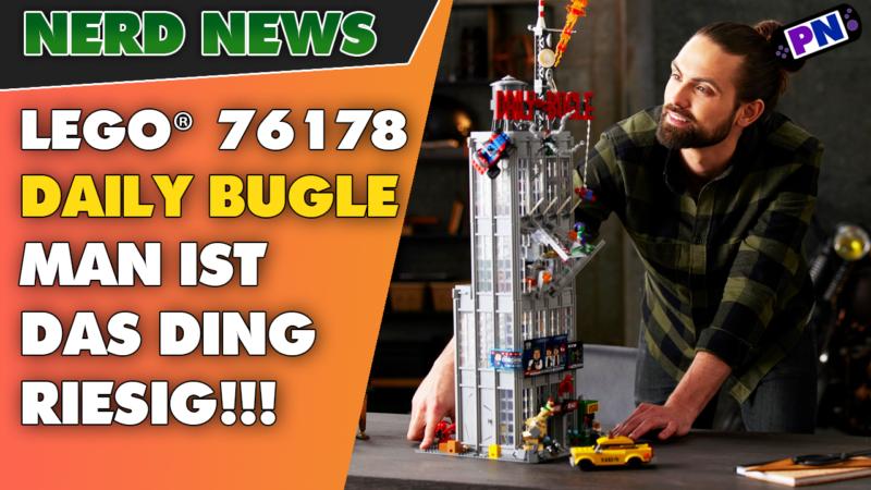 82 cm! 25 Figuren! IST DAS DING RIESIG! LEGO® Marvel Spider Man Daily Bugle vorgestellt! Set 76178