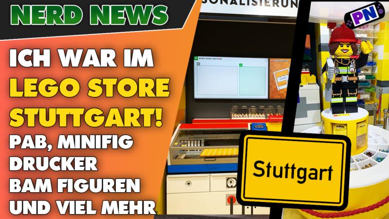 Ich durfte in den neuen LEGO® Store Stuttgart! BAM Tower, Pick a Brick und Minifig Druckmaschine uvm!
