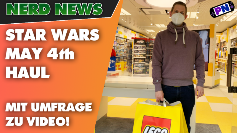 "Star Wars LEGO® Store Stuttgart HAUL – Was es zum ""May 4th"" gab PLUS Community-Umfrage!"