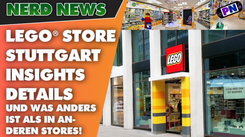 LEGO® Store Stuttgart: Insights, Details, Minfig Druckmaschine und was anders ist als in anderen Stores! Profinerd on Tour!