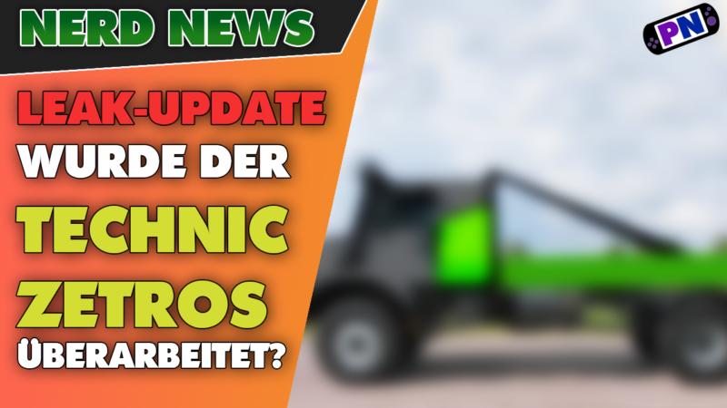 LEGO® TECHNIC LEAK Update: Wurde der Mercedes Benz Zetros überarbeitet? Farbe und Achsen NEU!