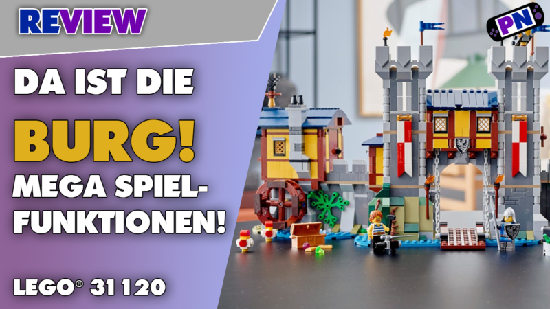 Noch besser als gedacht: Da ist die Burg: LEGO® Creator 3-in-1 Ritterburg 31120 – mit wenig Mankos!