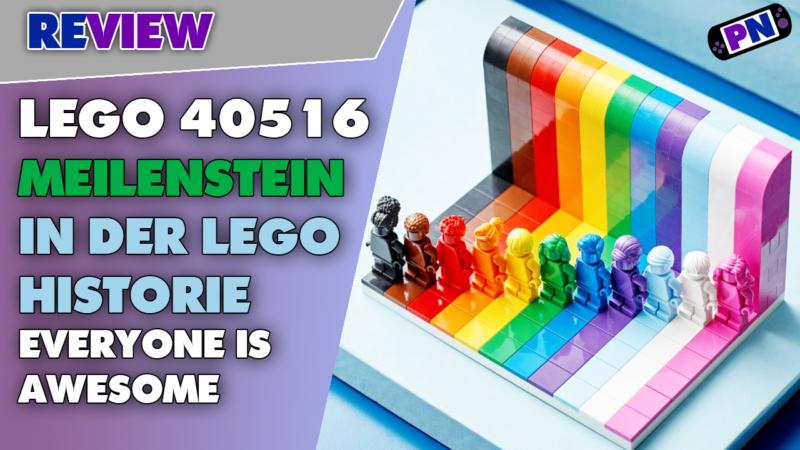 Endlich mal eine gute Farbseuche und ein Hit für Monochrom Minifig-Sammler! Everyone is Awesome Review 40516