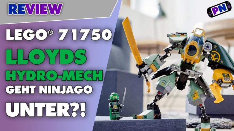Ninjago geht unter! Lloyd Unterwasser im Einsatz: LEGO® Lloyds Hydro-Mech (71750)