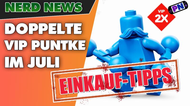 Doppelte VIP Punkte vom 12.-18. Juli bei LEGO: Einkauftipps