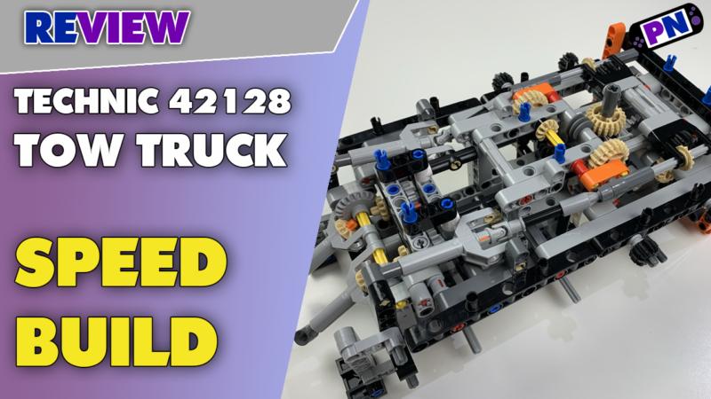 LEGO® TECHNIC 42128 TOW TRUCK Speed Build und Bauschritt-Fazit – Schwerlast Abschleppwagen