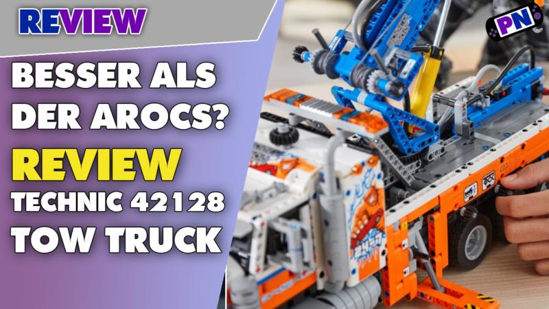Was ein Hammer! LEGO® TECHNIC 42128 Schwerlast Abschleppwagen: Der neue Arocs?! Mit Unboxing!