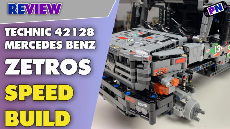 Mercedes Benz Zetros im Speed Build plus Baufortschirtt-Besprechung! LEGO® TECHNIC 42129 Trial Truck